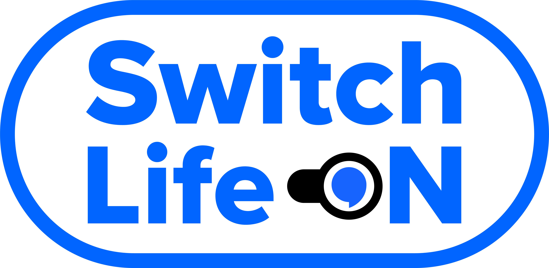 switch life on logo