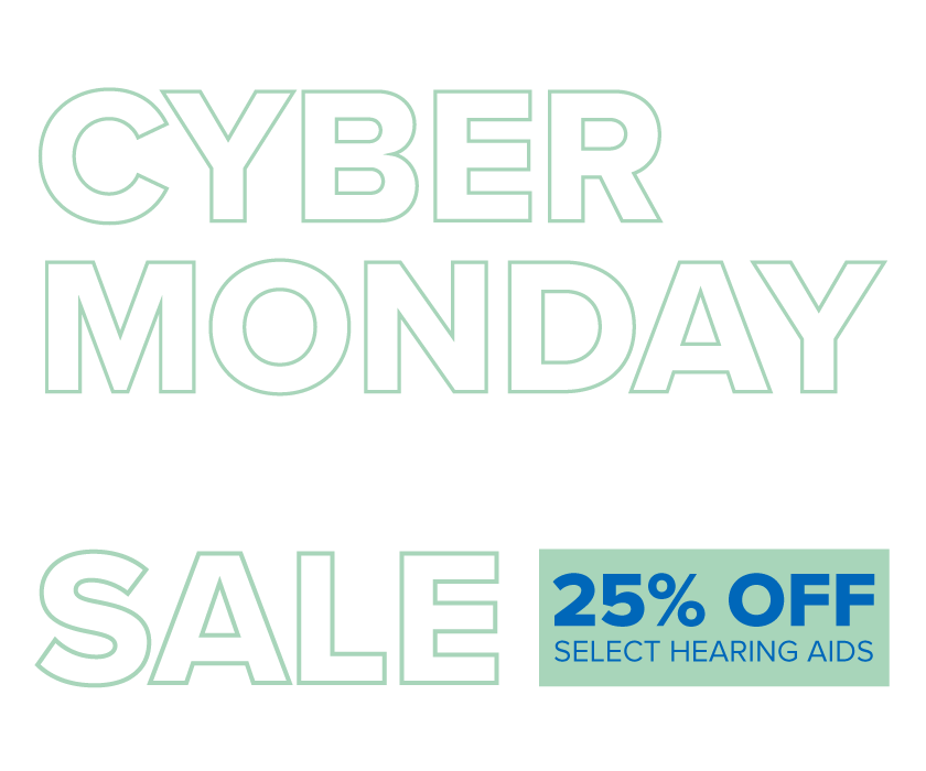 Cyber Monday Hearing Aid Sale