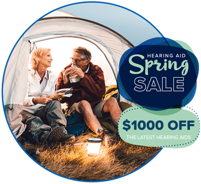 hearing aid spring sale - $1000 off the latest hearing aids