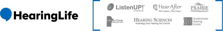 HearingLife logo and partnered affiliates