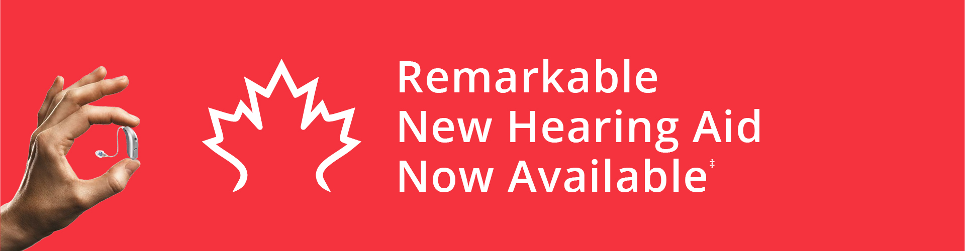 Remarkable New Hearing Aid Now Available