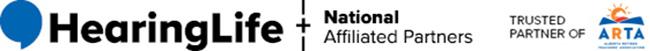 HearingLife logo - trusted partner of ARTA