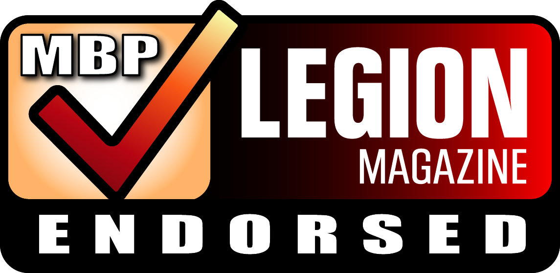 MBP Legion magazine endorsed