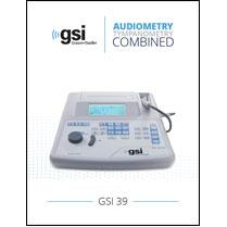 GSI 39 Audiometer Tympanometer Brochure