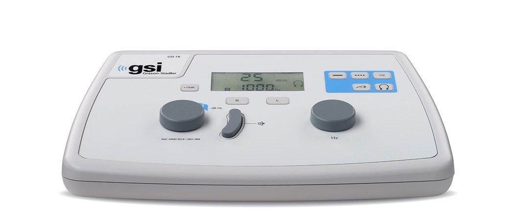 GSI 18 Portable Screening Audiometer from Grason-Stadler