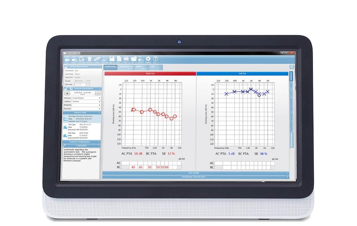GSI Suite audiometric data management software from Grason-Stadler