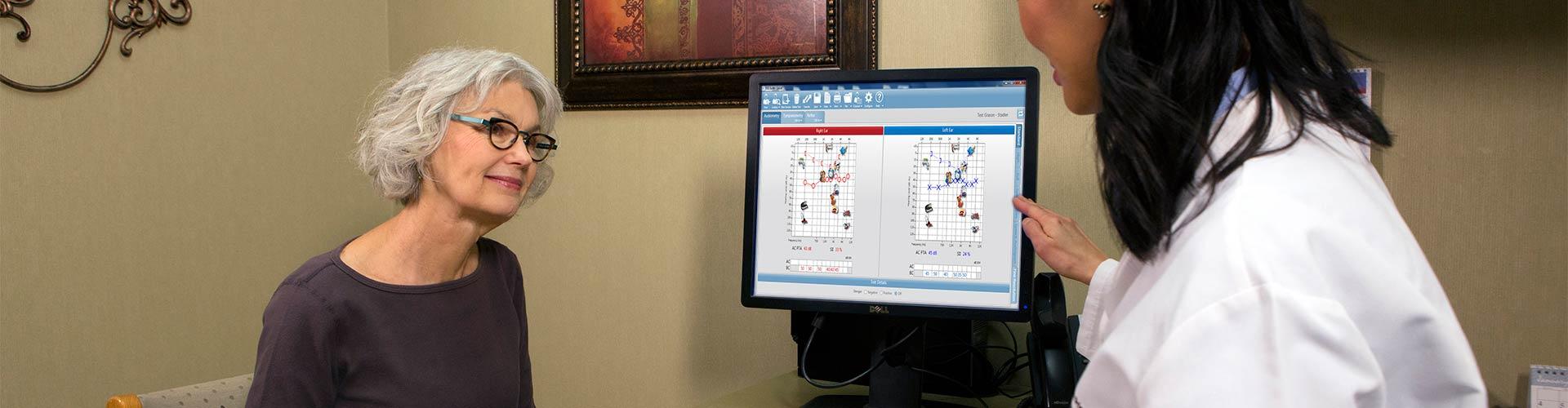 Audiologist Counseling Patient GSI Suite Data