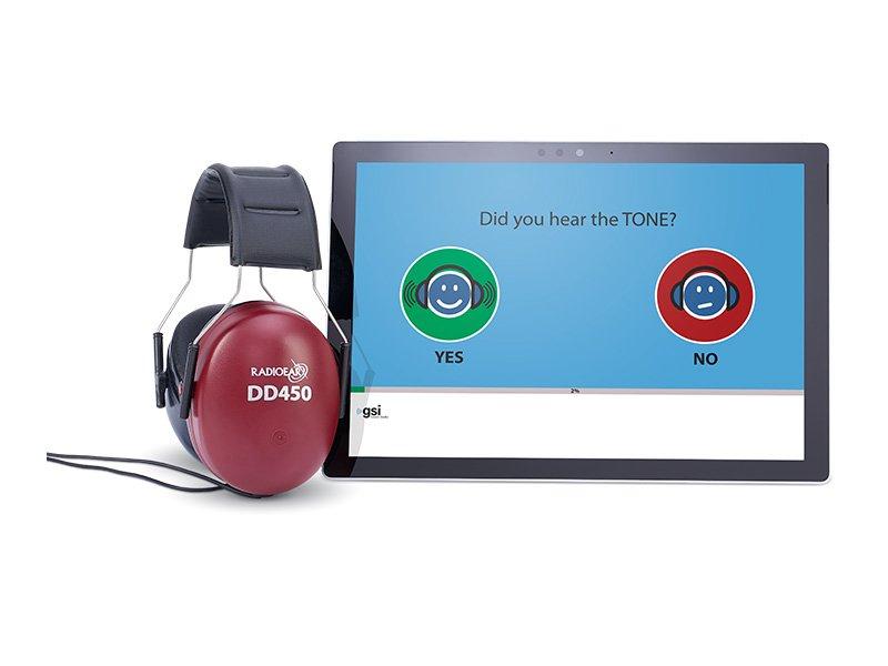 AMTAS Flex Tablet Audiometry from Grason-Stadler