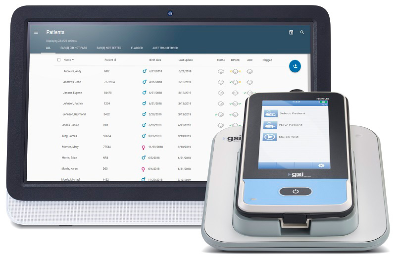 Novus HearSIM Data Management