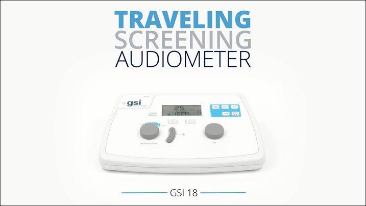 GSI 19 Screening Audiometer Overview Video