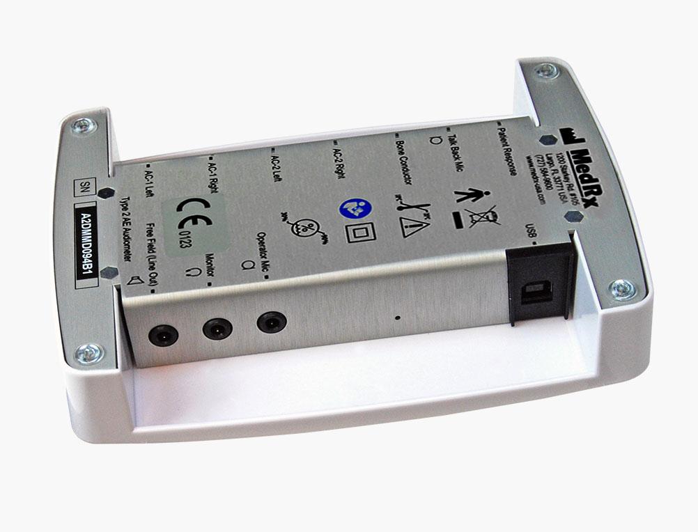 AVANT A2D+ Audiometer Bottom Angled 2