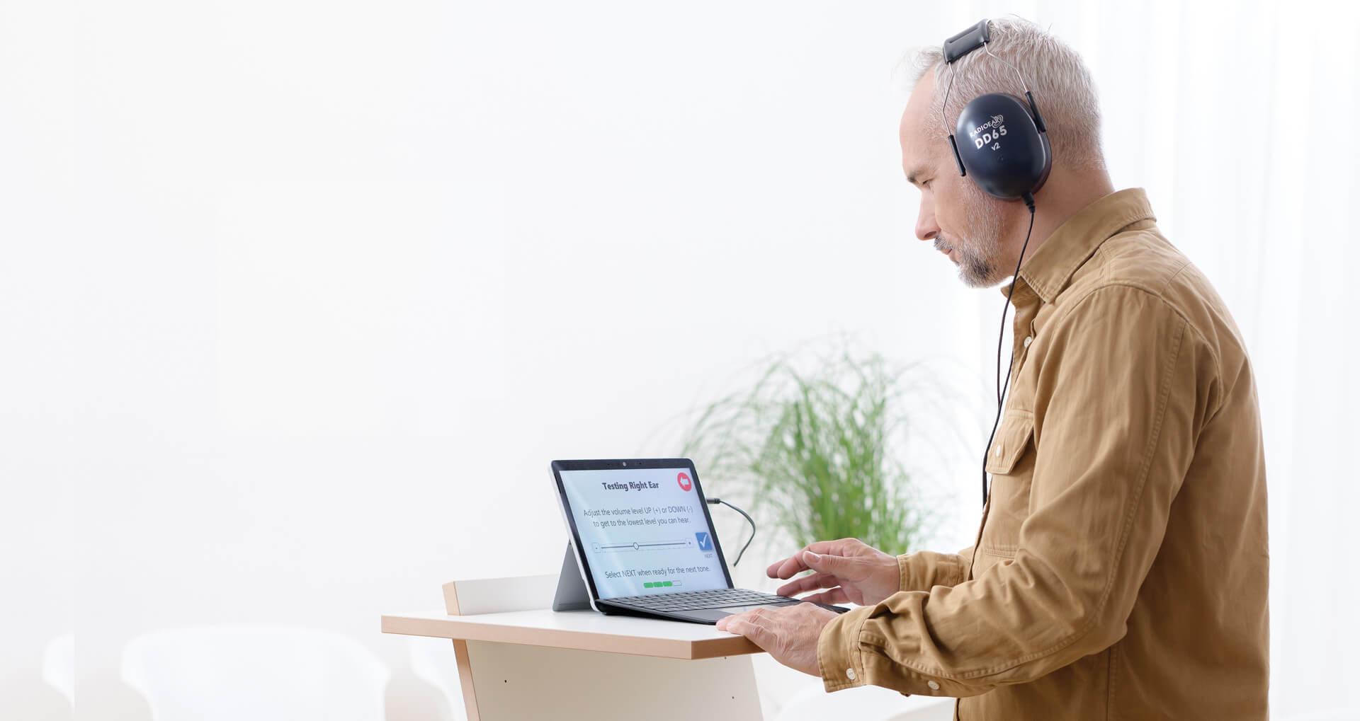 Kiosk - Hearing Screening Tablet