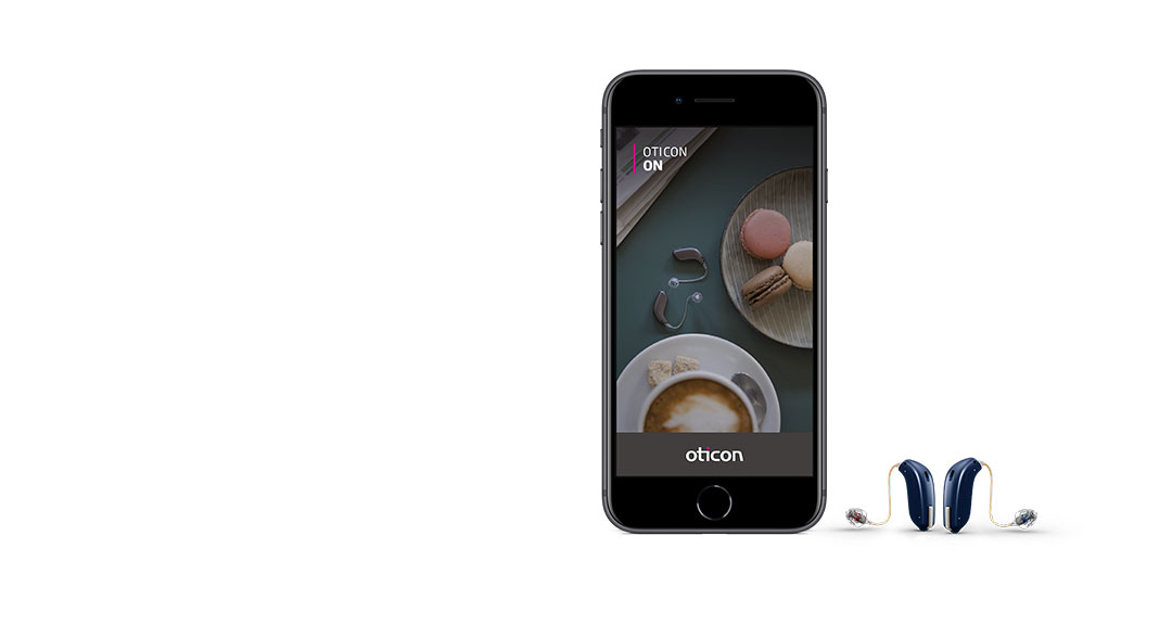 Bluetooth hearing aids connect to ON App