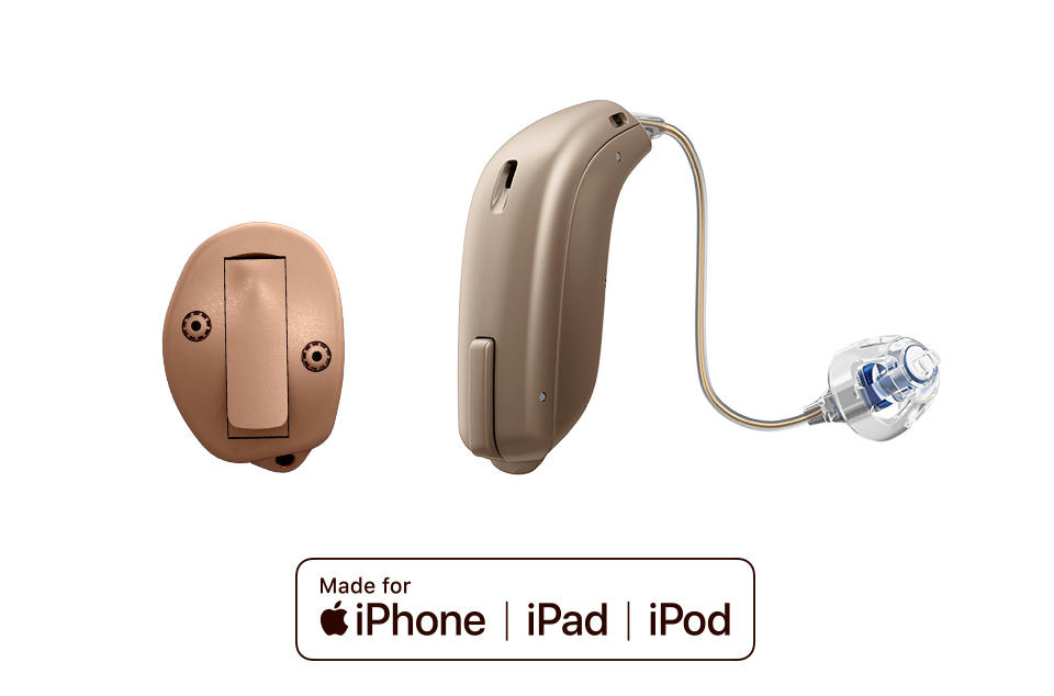 Oticon hearing aids made for iPhone