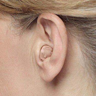 Oticon hearing aids ITE