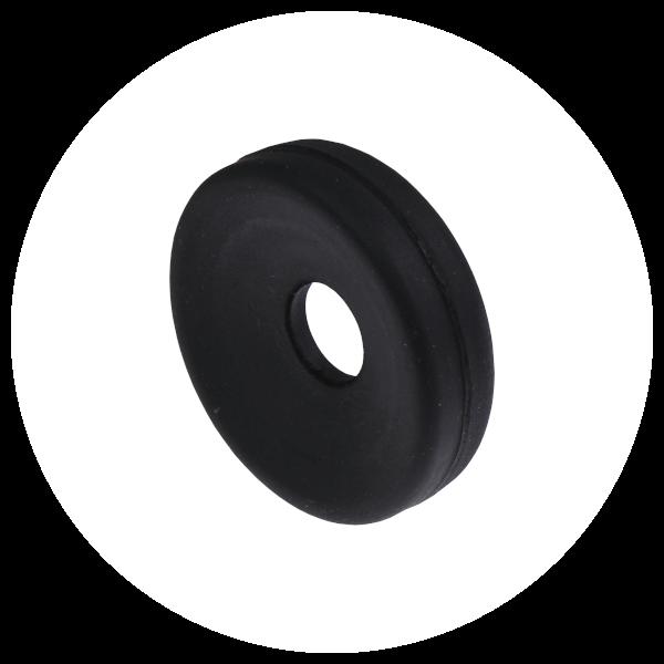 black ear cushion