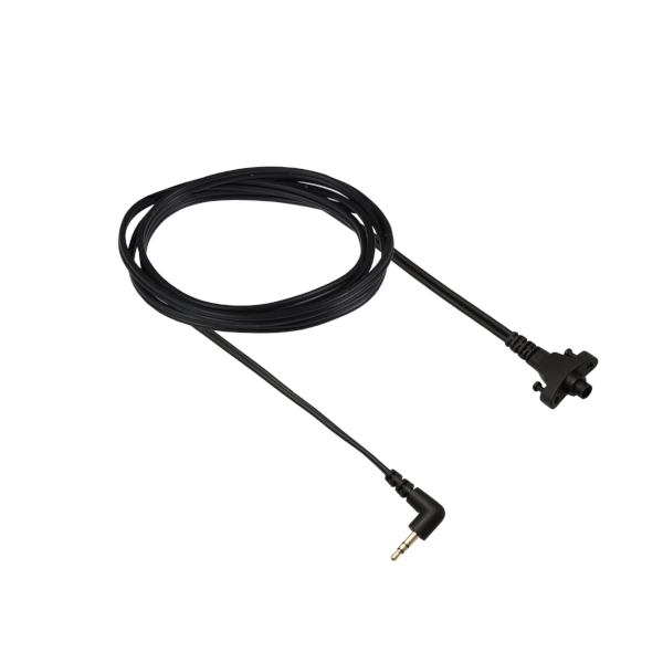 Circumaural Headband cable with one 90deg stereo mini jack