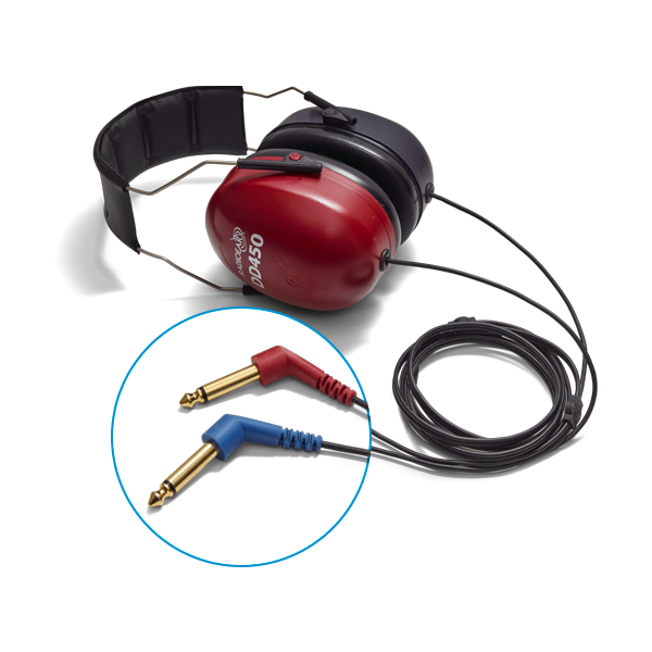 DD450 audiometric air transducer headset
