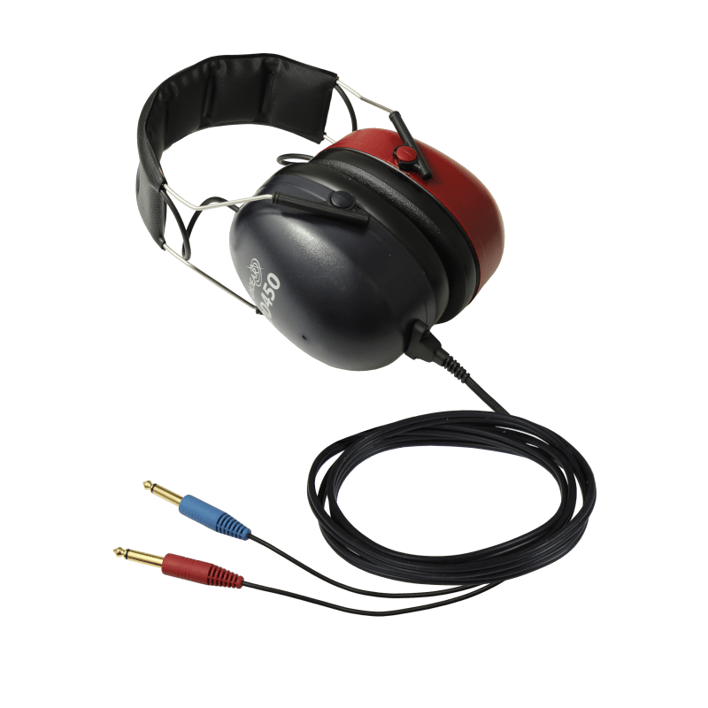 DD450 High Frequency Headset with two straight mono jacks