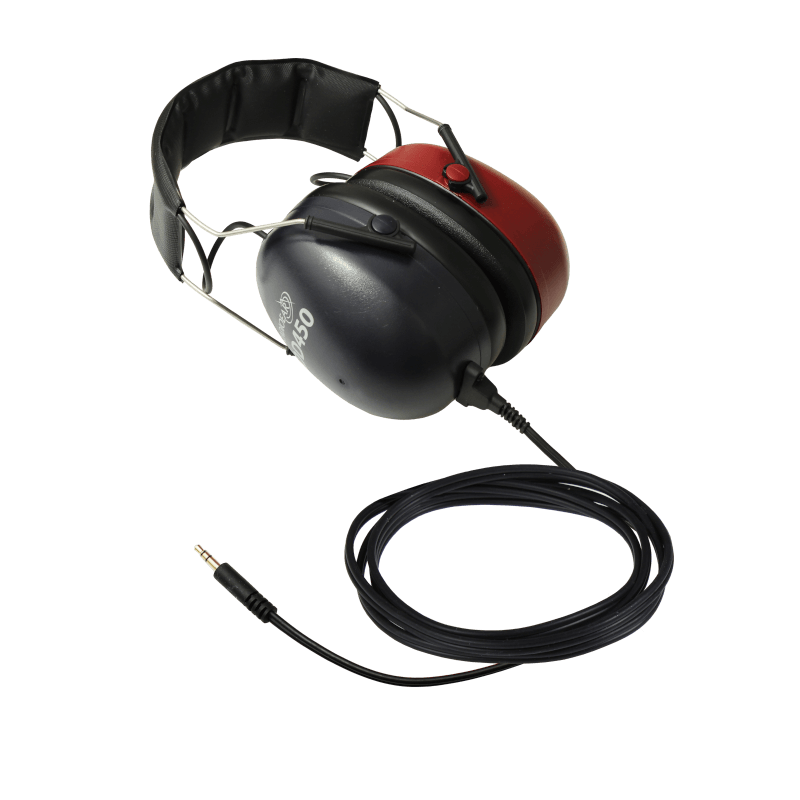 DD450 High Frequency Headset with one straight stereo mini jack