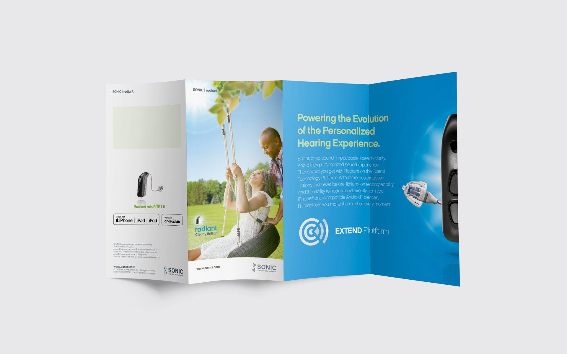 Radiant Patient Brochure Flyer