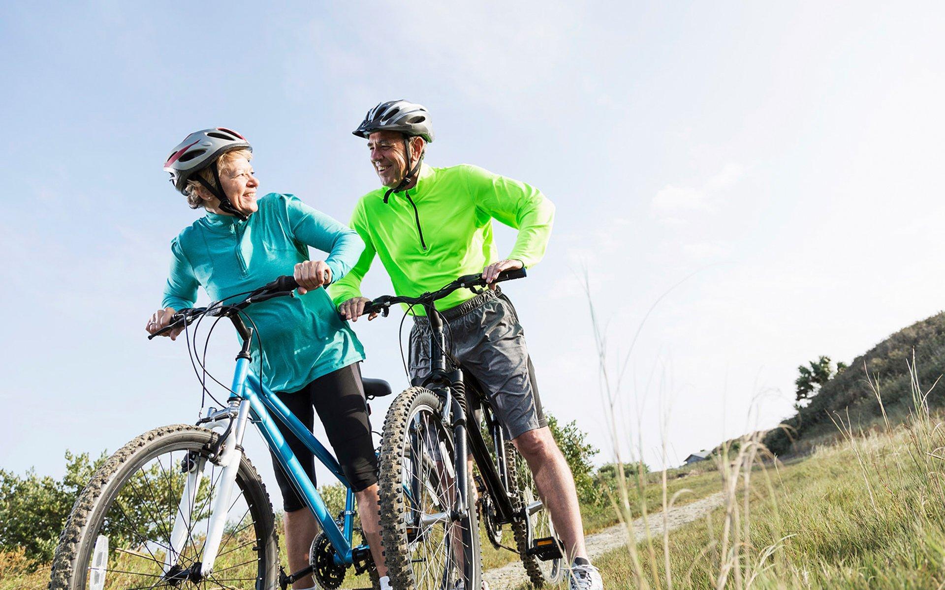Journey Couple Biking