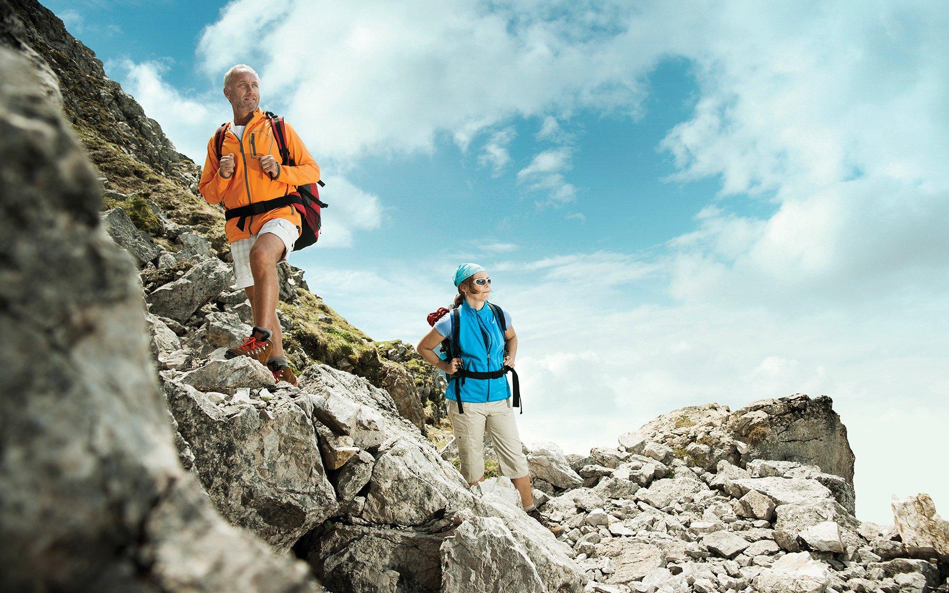 Journey Couple Hiking