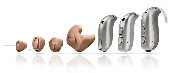 Enchant  Hearing Aid Lineup by Sonic