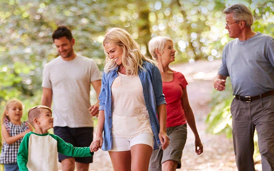Trekking Family