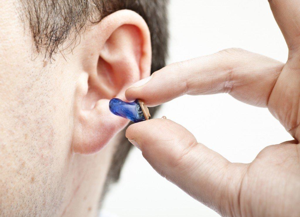 Static noise in ear