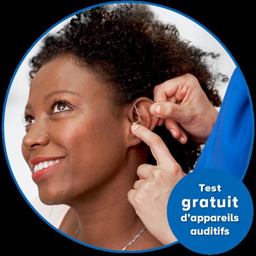 Test gratuit d'appareils auditifs