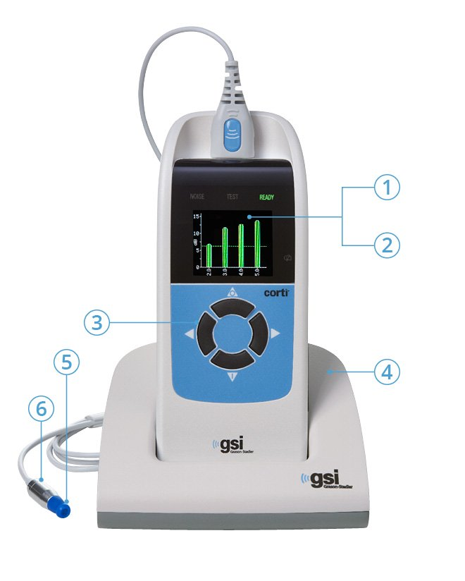 GSI Corti OAE Device Features
